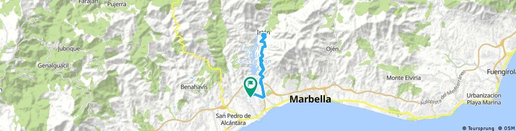 Marbella - Istan - Marbella