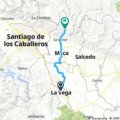 La Vega  - Rim mountain