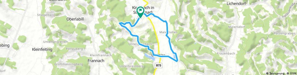 Kirchbach-Tagensdorf-Glatzau-Sauberg-Kirchbach