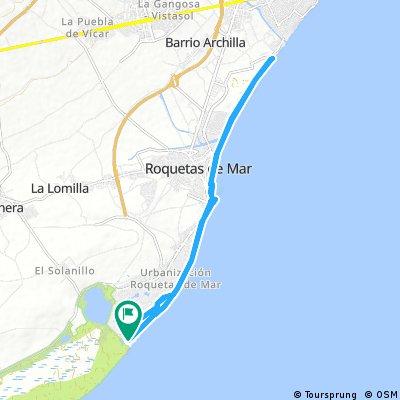 Playa Serena- Aguadulce- Roquetas- Weihnachtsmarkt- Playa Serena