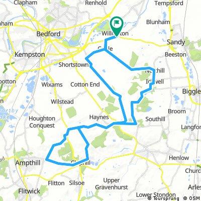 Bedfordshire ride December JAO/JS