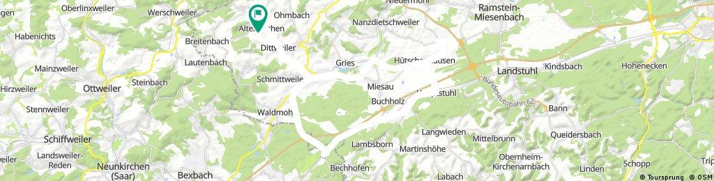 Elschbach Spesbach Hauptstuhl Bruchhof Schönenbg.Kbg