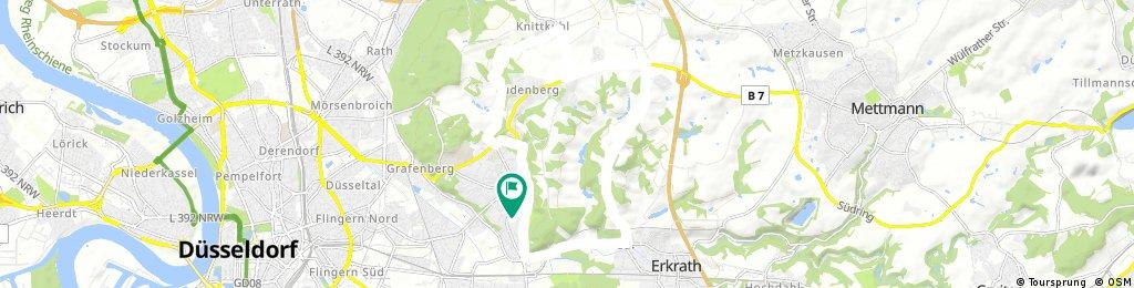 Gerresheim-Knittkuhl-Erkrath-Gerresheim