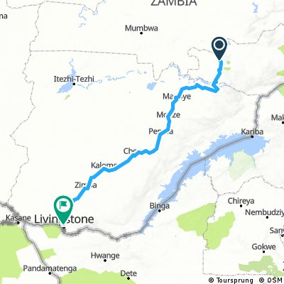 Lusaka/Livingstone tour