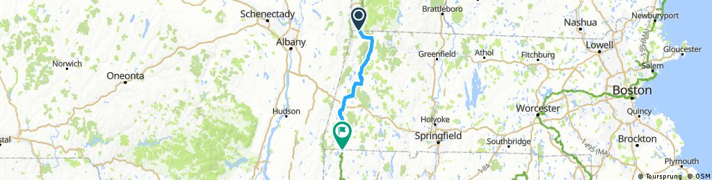 US Bicycle Route 7/Western New England Greenway