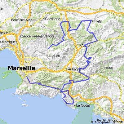 grand prix la marseillaise 2017 bikemap your bike routes. Black Bedroom Furniture Sets. Home Design Ideas