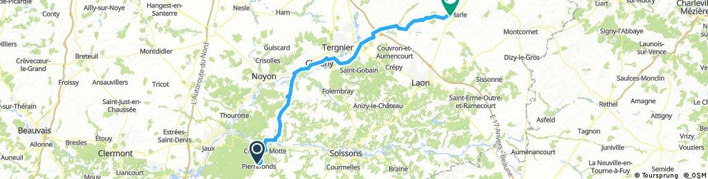 Parijs - Apeldoorn etappe 2