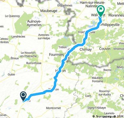 Parijs - Apeldoorn 3e etappe