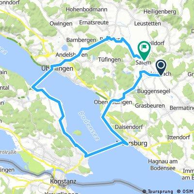Meersburg- Staad- Wallhausen- Überlingen