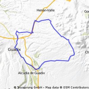 guadix-fuenten alamo-la trinidad