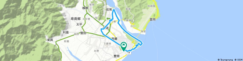 Taitung City Loop, Taitung County, Taiwan