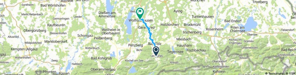 49_Lenggries – Wolfratshausen