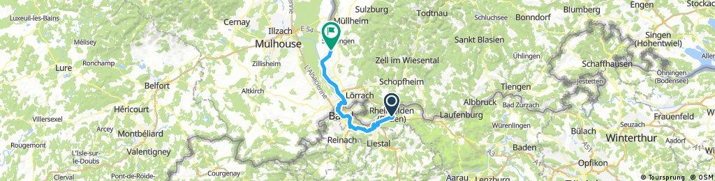 39_Rheinfelden – Basel – Bad Bellingen