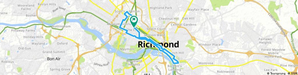 Crafty Ride Through Richmond