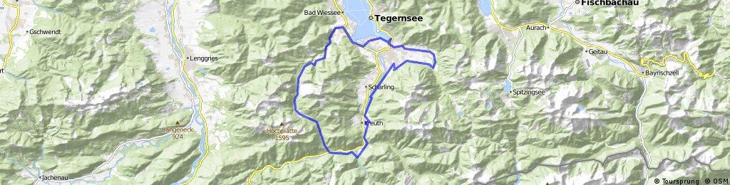 A-Runde (MTB Tegernsee)