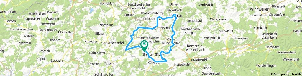 Elschbach Gries Börsborn Altenglan Konken Osterbrücken Werschweiler Frohnhofen