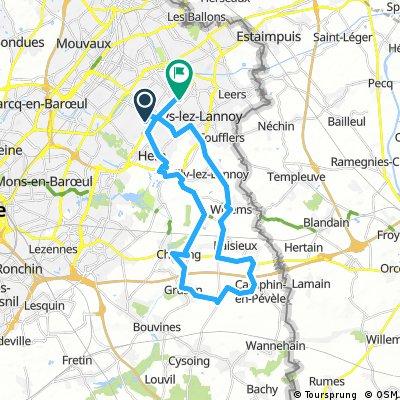 Reconnaissance Paris-Roubaix Challenge 2017