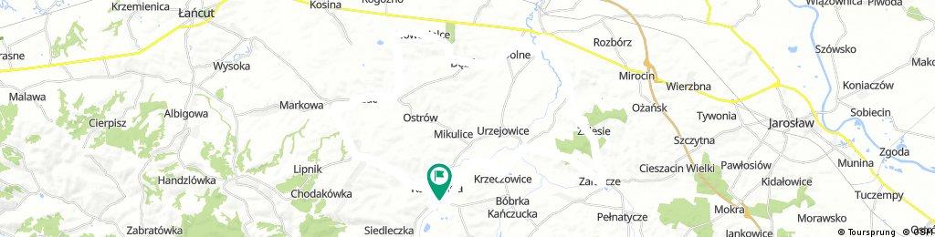50 (97/16) Zarzecze-Przeworsk-Nowosielce-Sietesz
