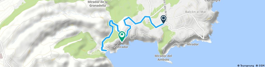 Brief ride from 23/10/2016, 11:29
