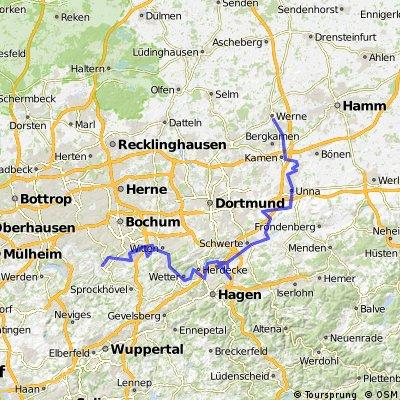 Hattingen-Ruhrtal-Schwerte-Unna-Werne