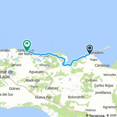 Varadero to Playa Rotilia