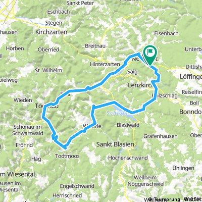 Neustadt - Feldberg - Schluchsee