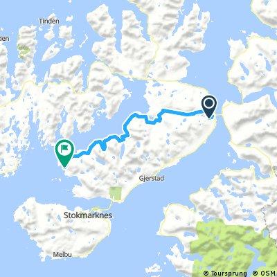 NORWEGEN 2016-08-24 Sortland bis vor Stokmarknes