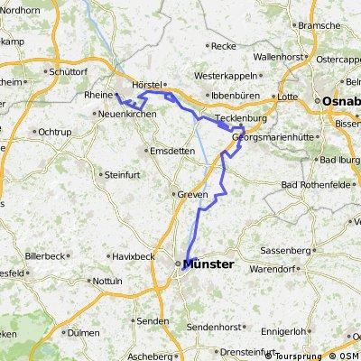 Rheine-Tecklenburg-Ladbergen-Münster