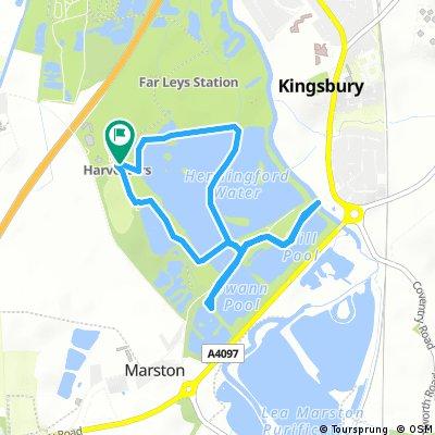 Kingsbury Water Park Lap 1