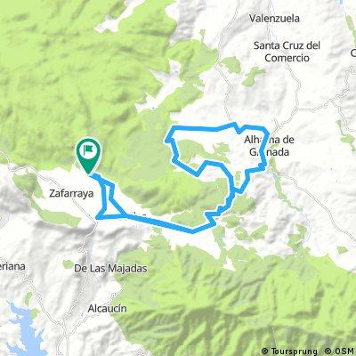 Llano de Zafarraya-Alhama de Granada(invertida)