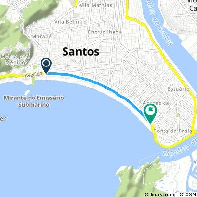 Canal 1 ao 6 - Santos - SP