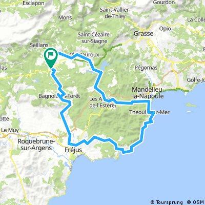 100km - Tour de l'Estérel