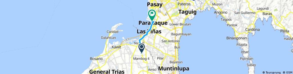ROUTE # 3 : Phoenix Molino to Dongalo (LANZ Sympathy Bike Ride)