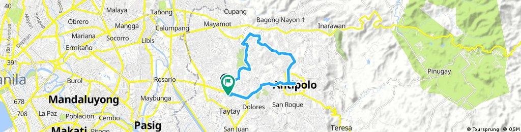 antipolo sumulong taytay