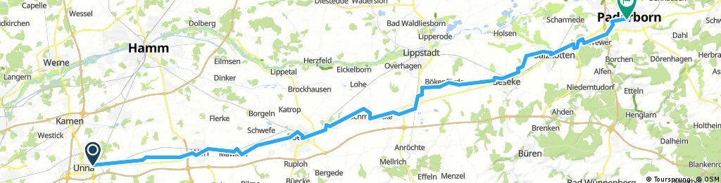 Alter Hellweg bis Paderborn