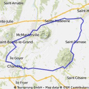 Boucle Richelieu- St-Hyacinthe, Ste-Julie  CLONED FROM ROUTE 300361