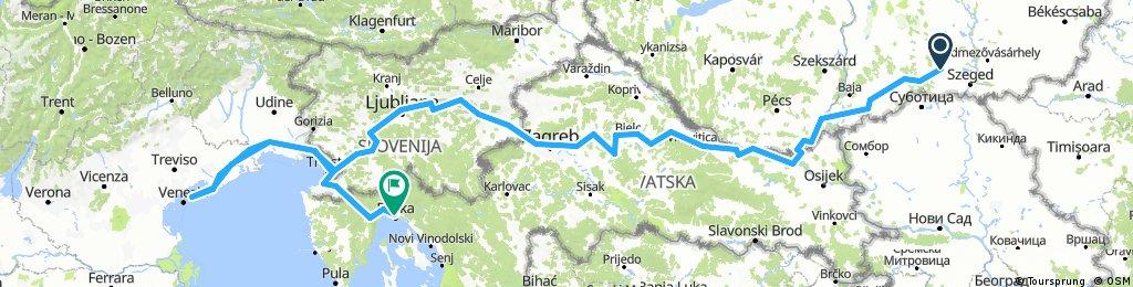 Horvátország-Szlovénia-Olaszország