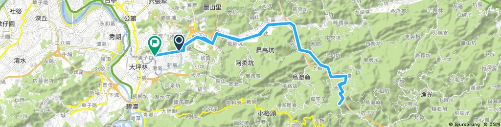 Long ride through 文山區