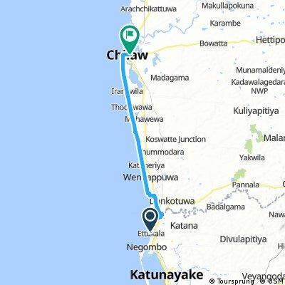 Negombo - Chilaw