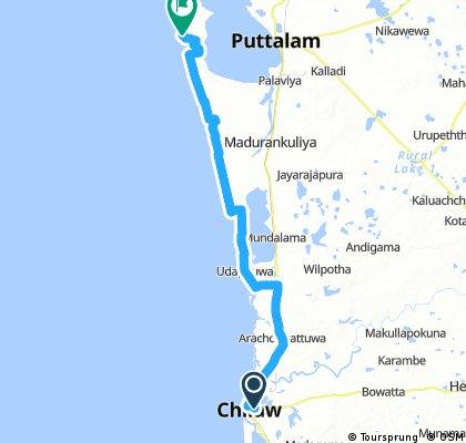 Chilaw - Ilanthadiya