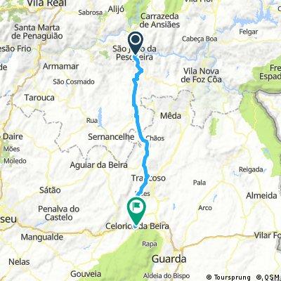 Portugal_9a: Sao Joao da Pesqueira -  Celorico da Beira