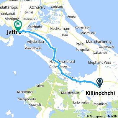 Kilinochchi - Jaffna