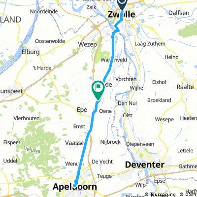 Zwolle to Apeldoorn