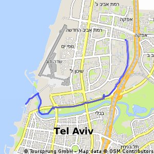 Cycling Routes And Bike Maps In And Around Ramat Gan Bikemap - Ramat gan map