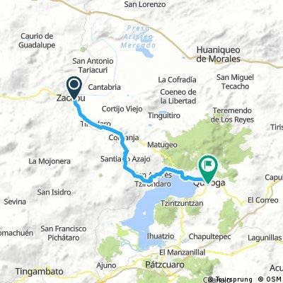 Zacapu to Quiroga Back roads
