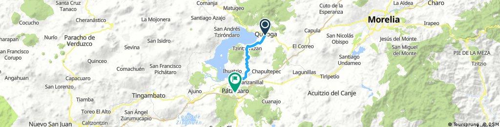 Quiroga to Patzcuaro