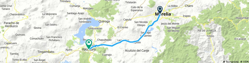 Morelia to Patzcuaro