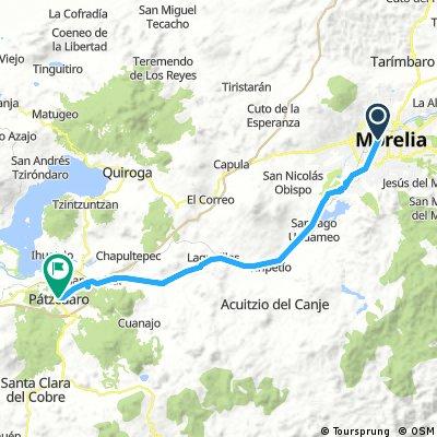Morelia to Patzcuaro\