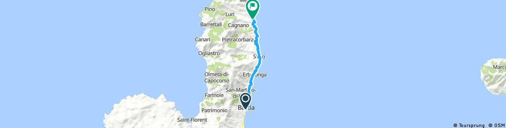 Bastia - camp Santa Severa