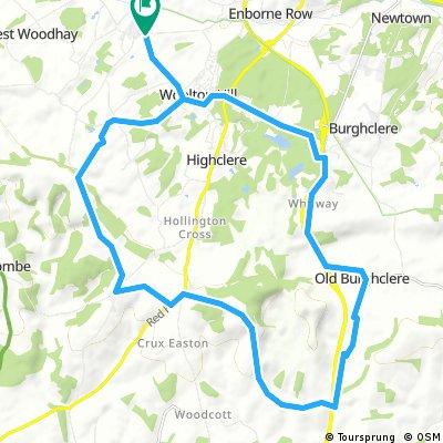 Asmansworth, South, A34 Frogger